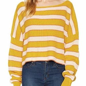 Free People - Just My Stripe Pullover
